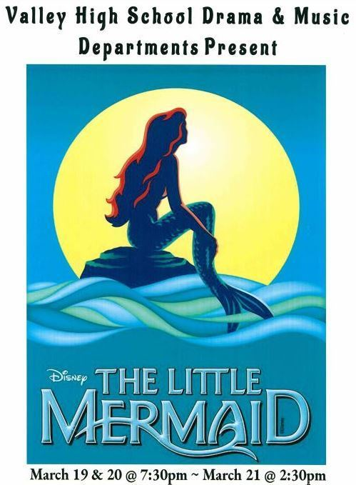 "VHS Drama & Music Departments Present ""The Little Mermaid"""